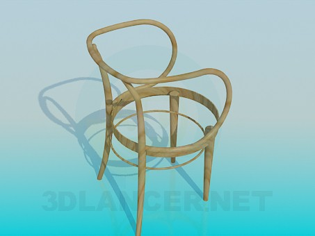 3d model Chair without seat - preview