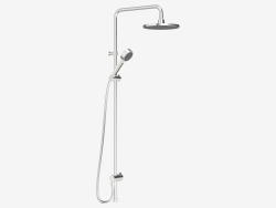 Shower set Rexx Shower System S5 (chrome)
