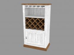 Caisse pour les vins (PRO.041.XX 74x132x42cm)