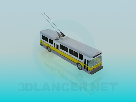 3d model Trolleybus - preview