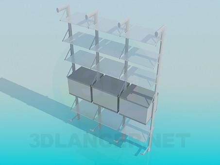 3d model Rack - preview